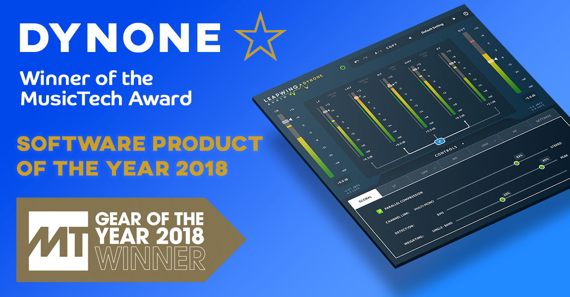 MusicTech Software Product of the Year 2018