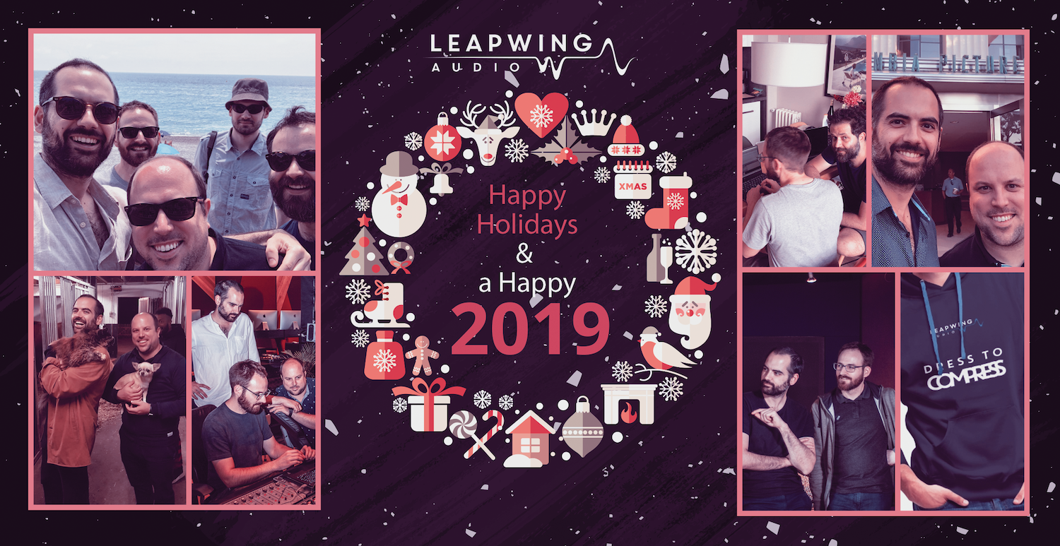Happy Holidays and all the best wishes for 2019!