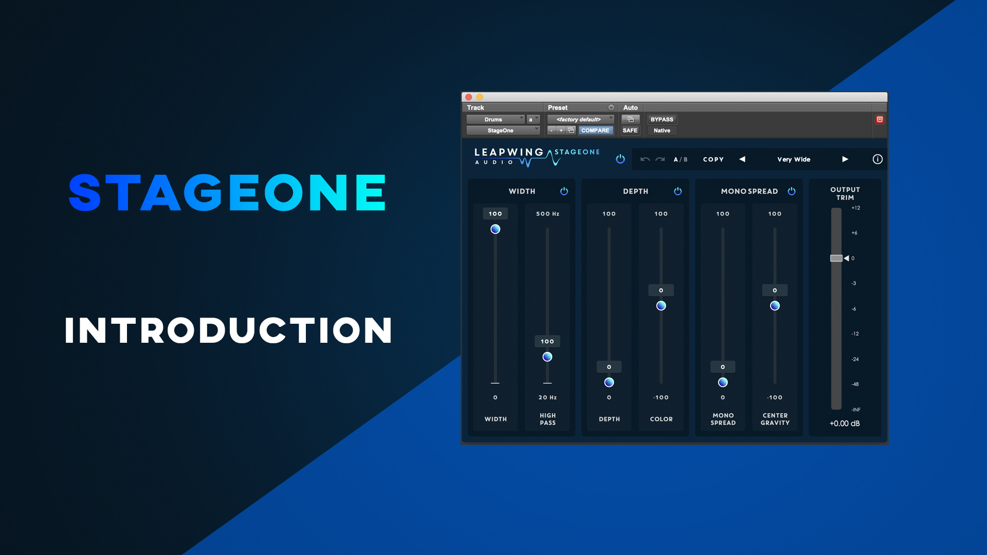 StageOne - Leapwing Audio